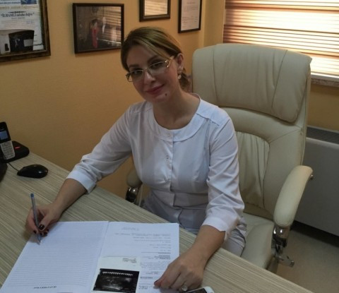 Cərrah mama-ginekoloq T.e.f. Dr. Samirə Tağıyeva