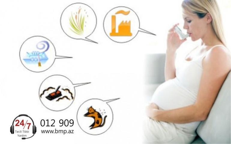 Hamilələrdə astma  xəstəliyi