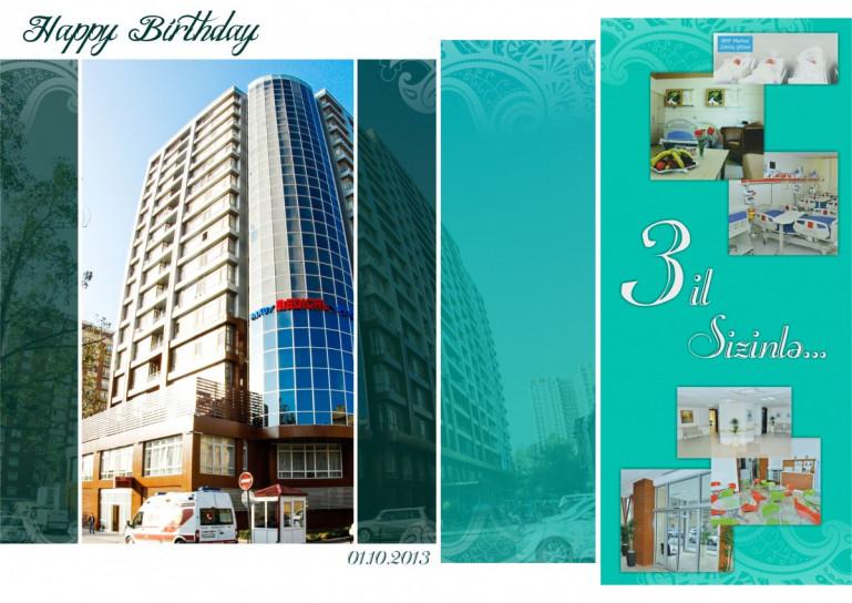 Baku Medical Plaza Mərkəz 3 il sizinlə!