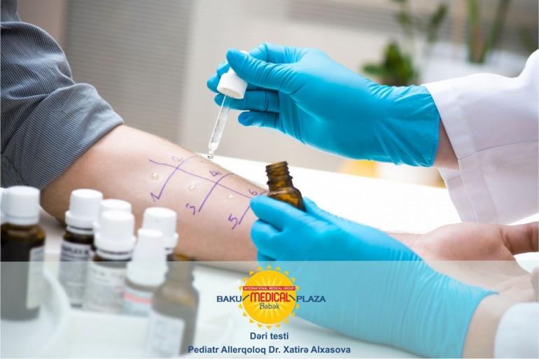 Dəri allergik testləri